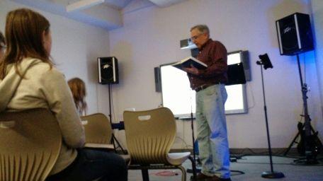 Pastor Chuck Spindler